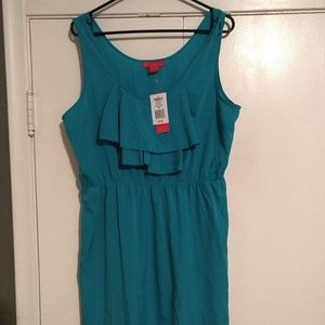 Dresses & Skirts - Blue ruffle dress Kohl's